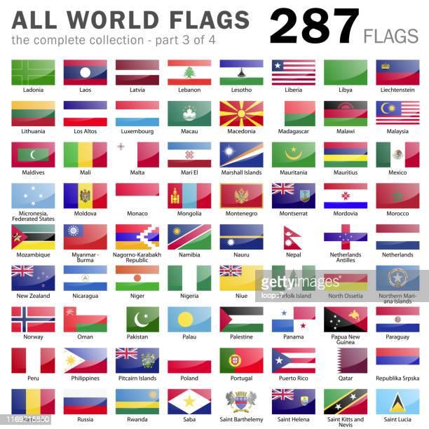 ilustrações, clipart, desenhos animados e ícones de todas as bandeiras do mundo-287 itens-parte 3 de 4 - libéria