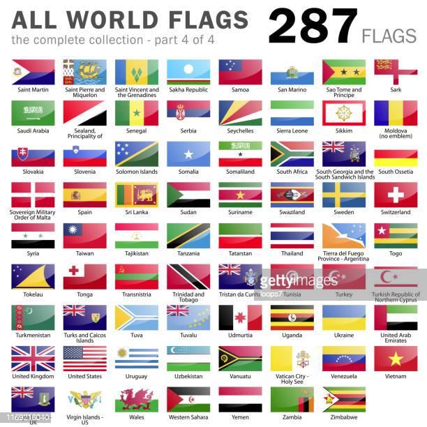 すべての世界の旗 - 287アイテム - パート4/4 - セルビア点のイラスト素材/クリップアート素材/マンガ素材/アイコン素材