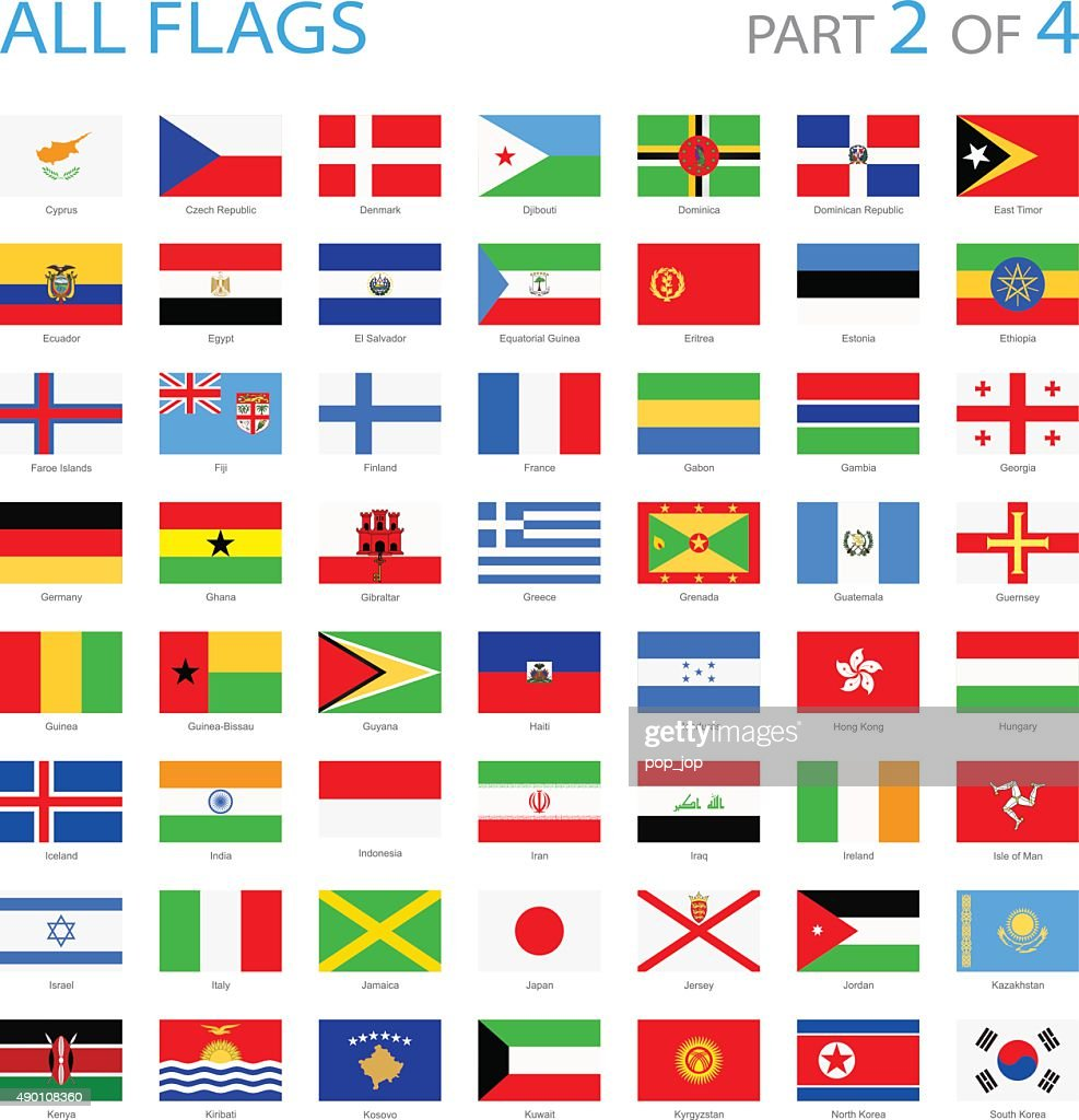 All World Flags - Illustration : stock illustration