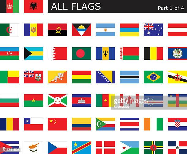 all world flags - bahrain stock illustrations, clip art, cartoons, & icons