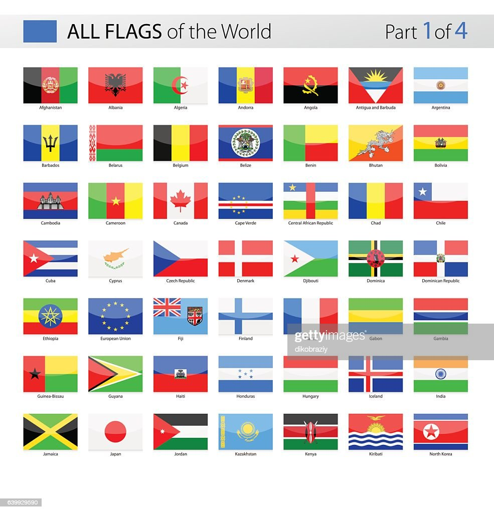 All World Vector Flags - Collection