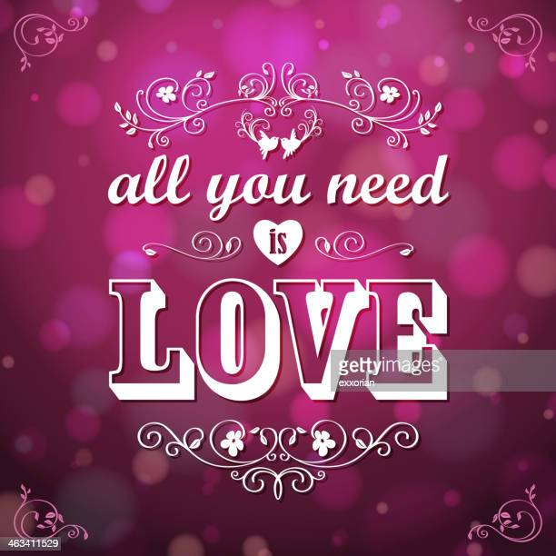 All You Need is Love for Valentine's Day