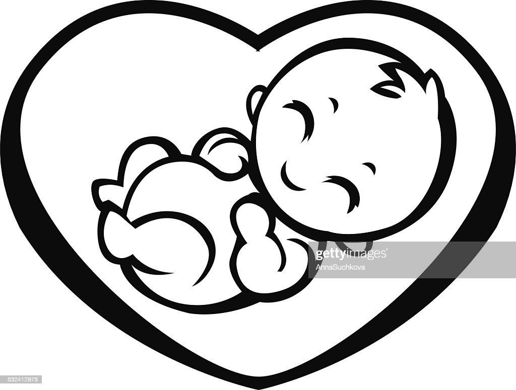 Allegorical Symbol Of Motherhood Vector Art Getty Images