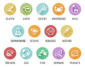 Allergen Food Allergy Icons