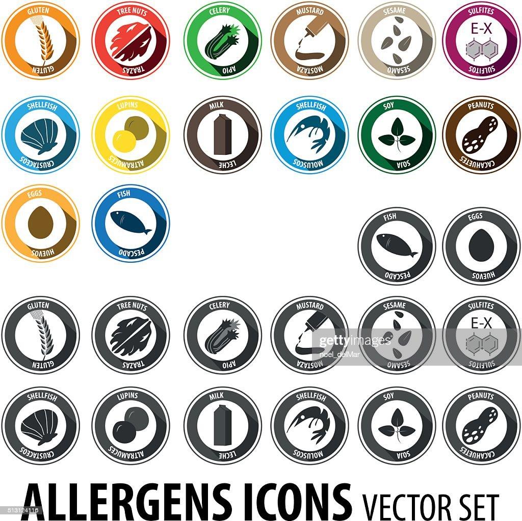 Allergens big set