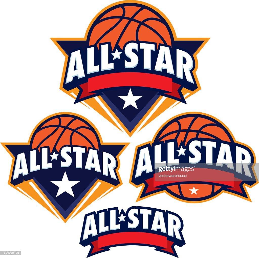 AllStar basketball design Pack