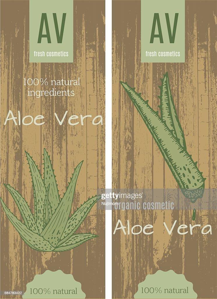 Aloe vera cards