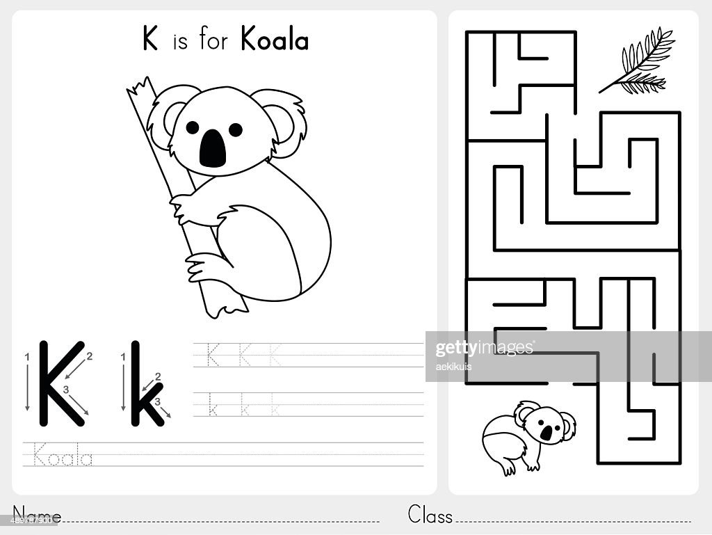 Alphabet A-Z Tracing and puzzle Worksheet