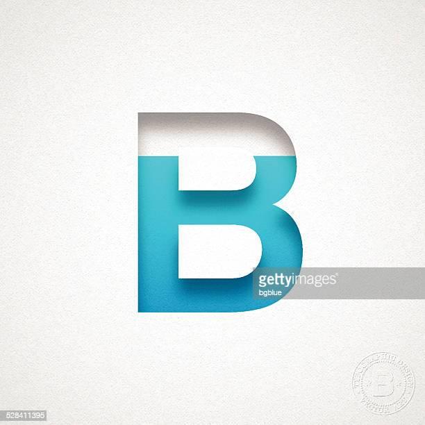 desenhos animados e ilustrações de stock de letra b getty images
