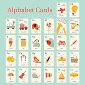 A-Z Alphabet Card
