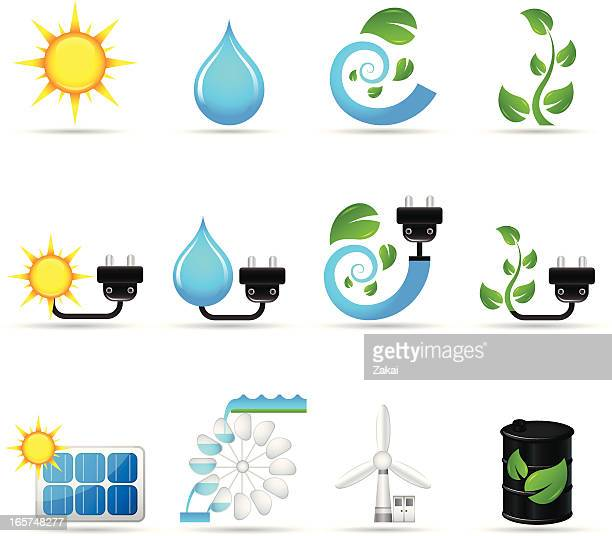 alternative energy sources | real series - biodiesel stock illustrations, clip art, cartoons, & icons