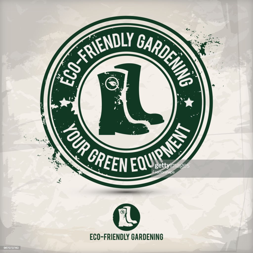 alternative green boot stamp