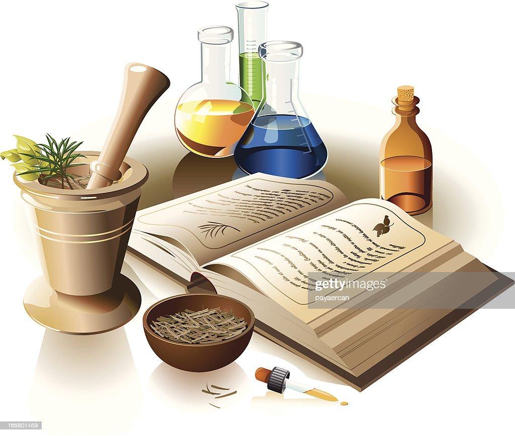 Alternative Medicine : stock illustration