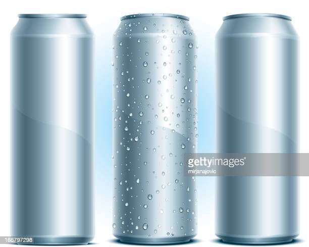 aluminum drink can - can stock illustrations
