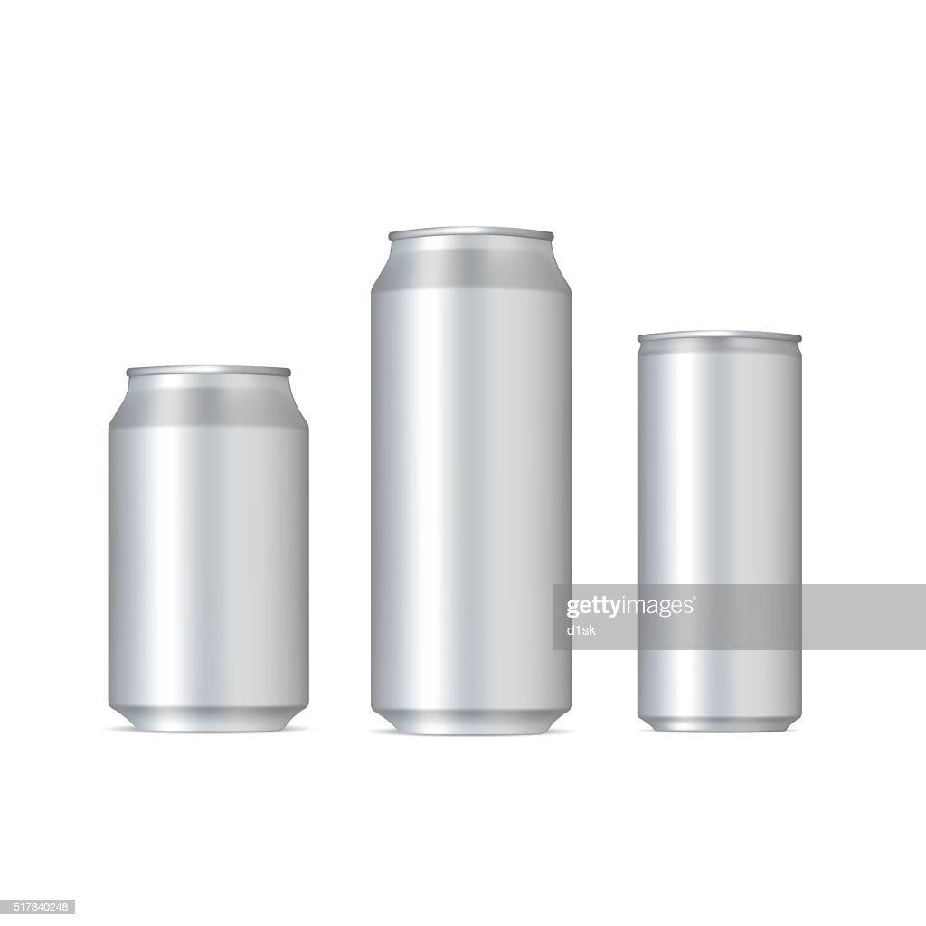 Aluminum realistic cans