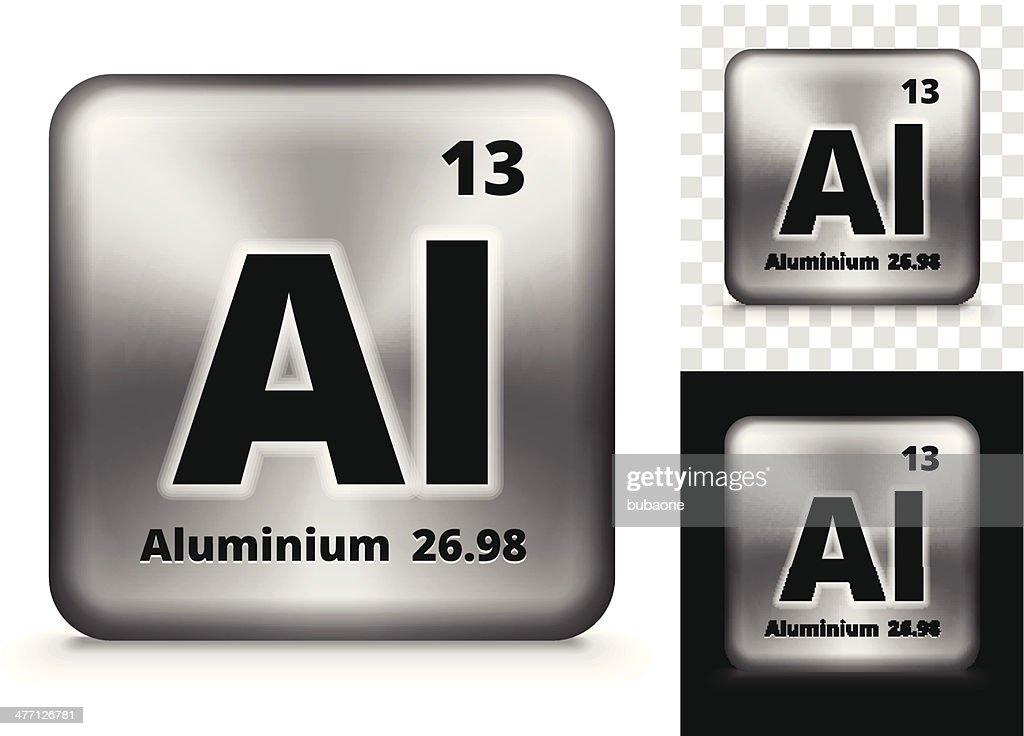 Aluminum Square Element Background Set Vector Art Getty Images