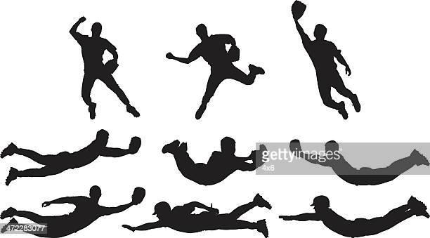 Amazing catches baseball players