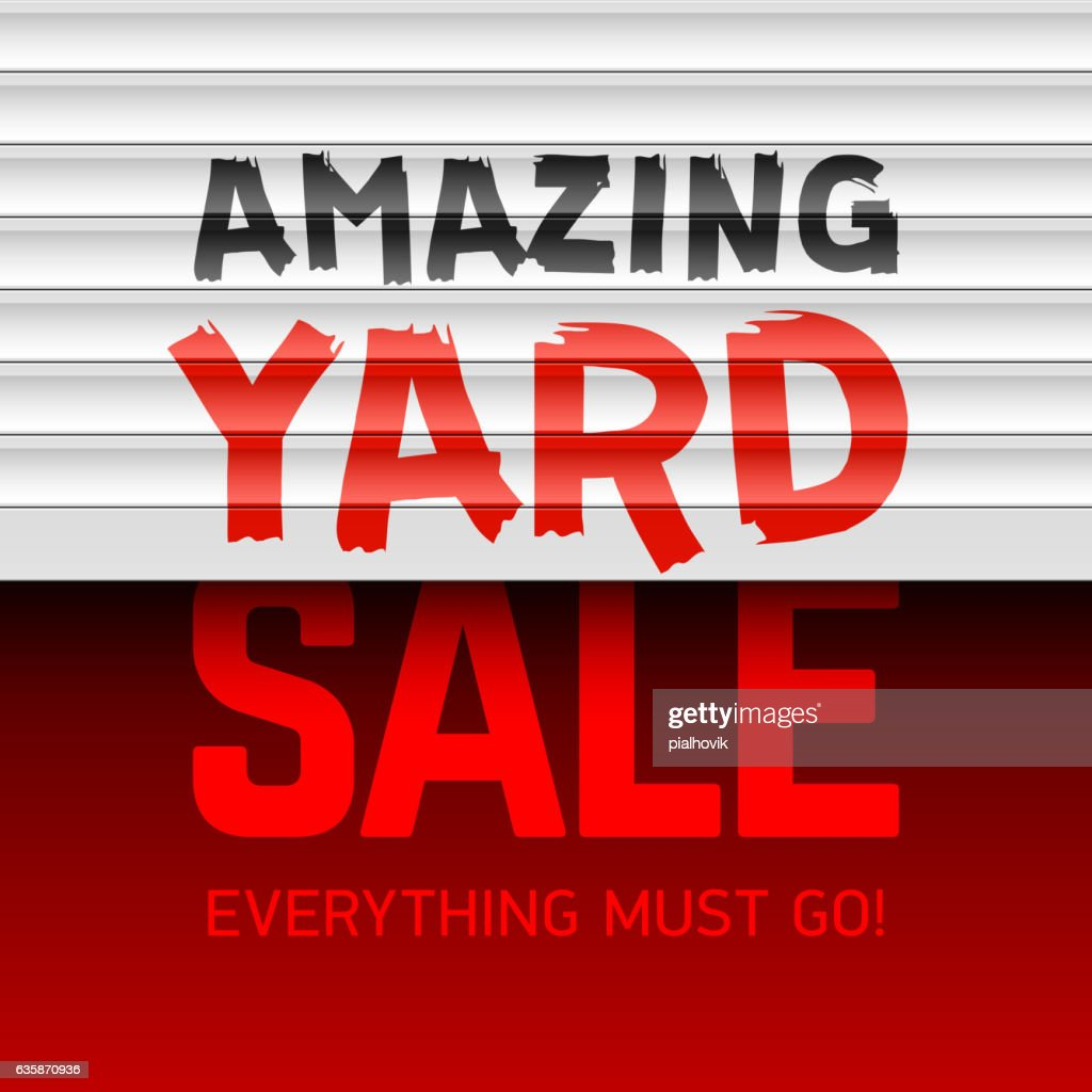 Amazing Yard Sale poster