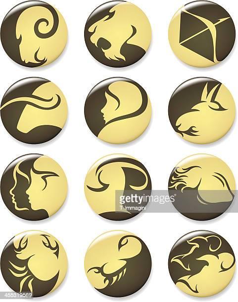 illustrations, cliparts, dessins animés et icônes de amber horoscopes - signe du verseau