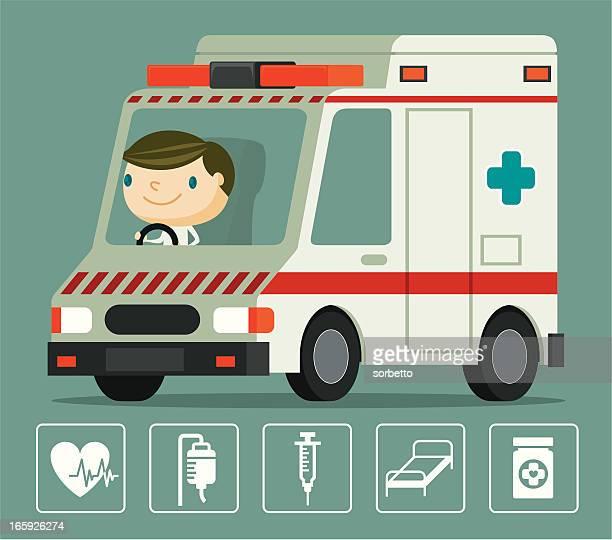 Ambulance and Driver