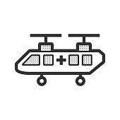 ambulance Soldier helicopter icon