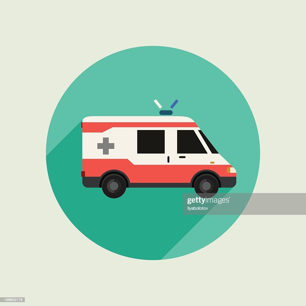 Ambulance vector car