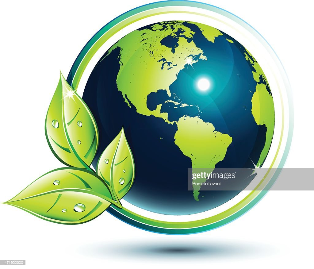 America green earth - eco-friendly and environment concept