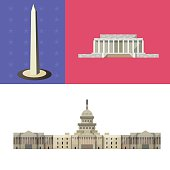 America travel attraction  . National Mall and Memoria