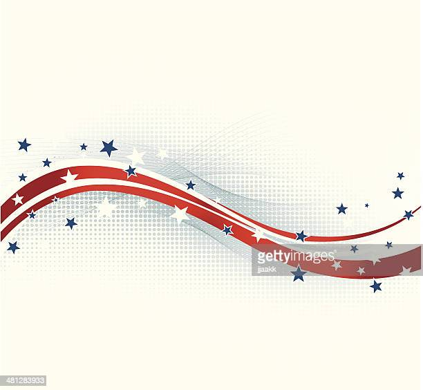 american background - presidential candidate stock illustrations