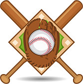 American Baseball Glove Insignia