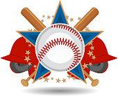 American Baseball Insignia Design