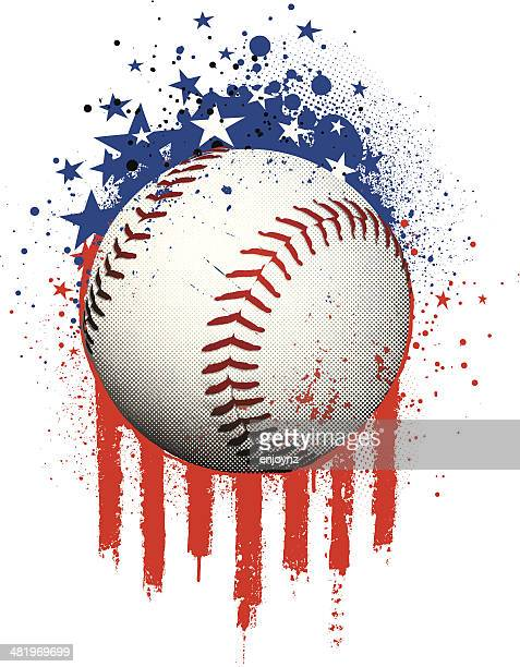 american baseball - baseball stock illustrations, clip art, cartoons, & icons