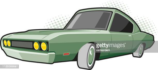 american car - car ownership stock illustrations, clip art, cartoons, & icons