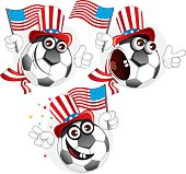 American cartoon ball