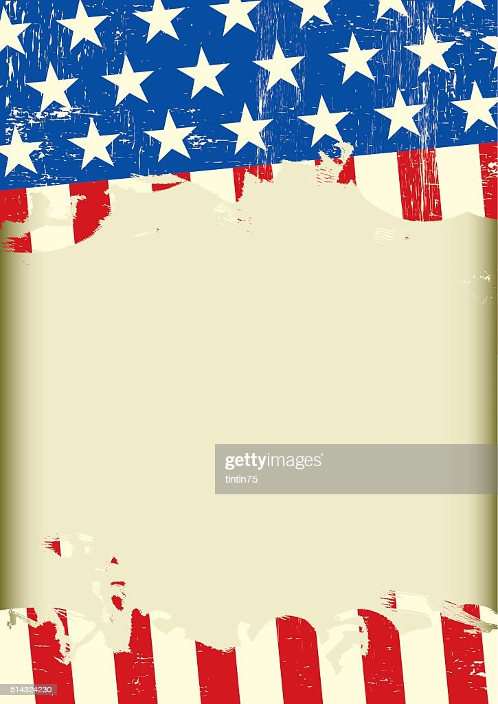 american cool dirty background