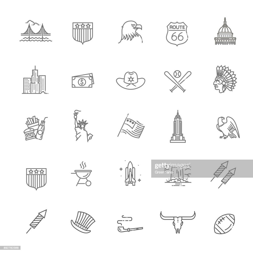 American Culture Icons, Culture Signs of the USA