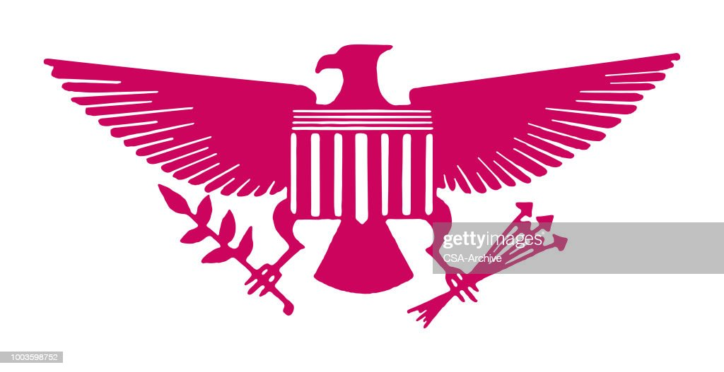 American Eagle Symbol Vector Art Getty Images