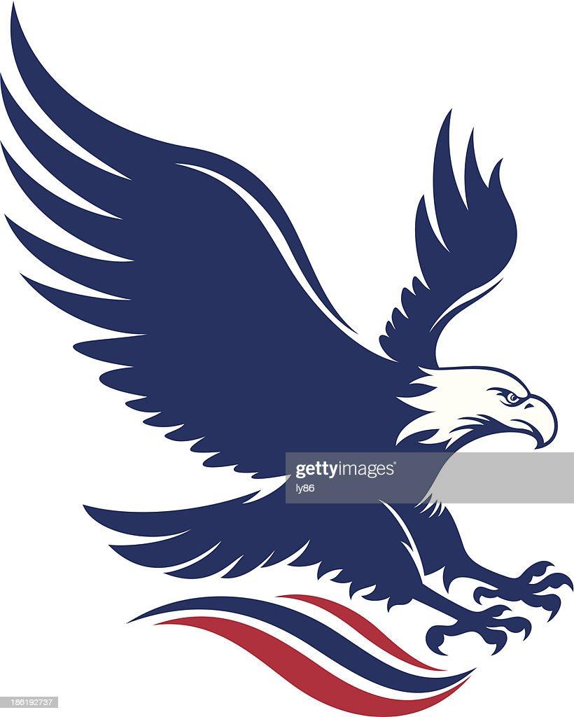 bald eagle vector art and graphics getty images rh gettyimages com bald eagle vector free bald eagle vector art