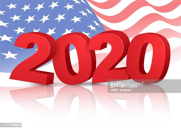 american election - 2020 vote - election stock illustrations