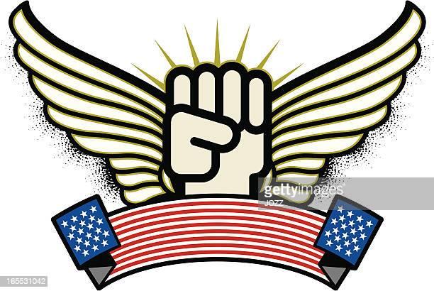 ilustrações, clipart, desenhos animados e ícones de american luta - american revolution