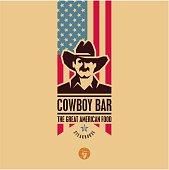 American food, cowboy