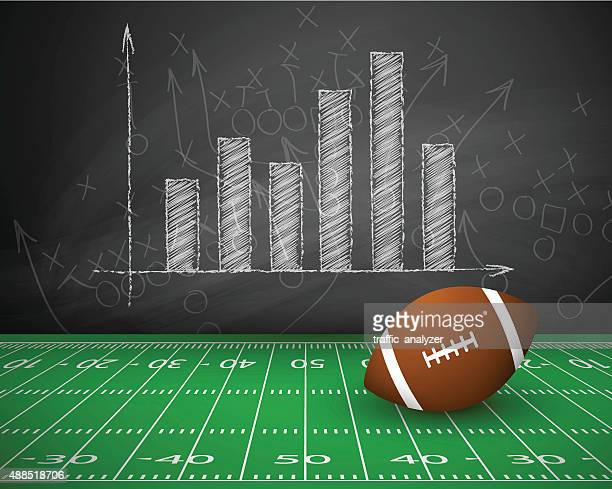 american football background - safety american football player stock illustrations, clip art, cartoons, & icons