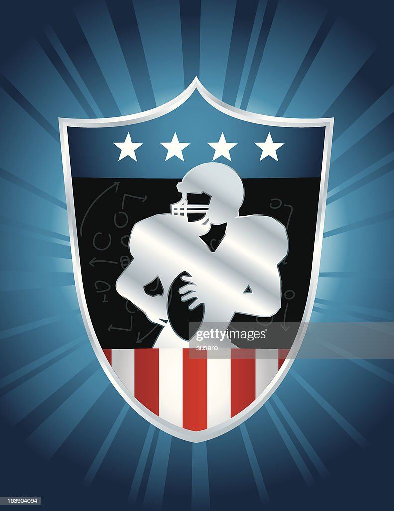 American Football Badge