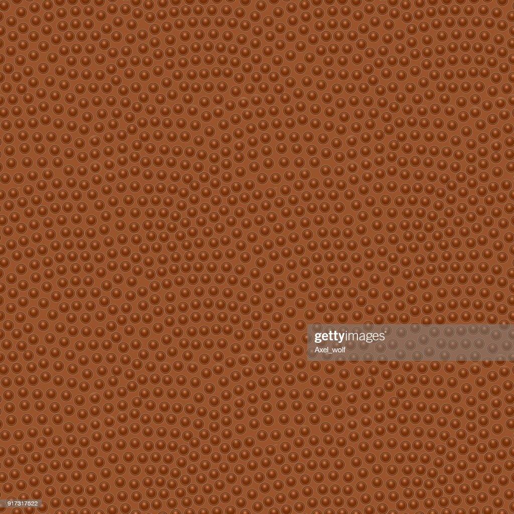 American football ball. Seamless pattern, vector