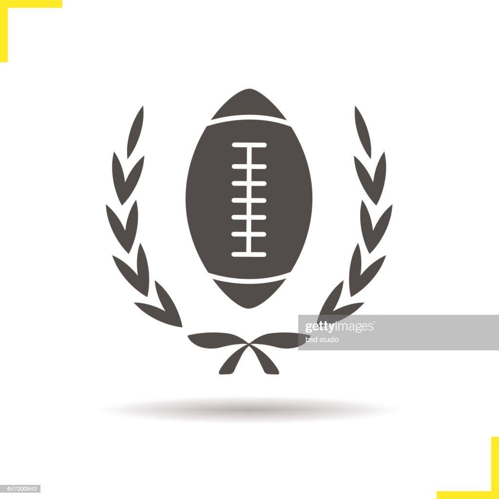 American football championship icon