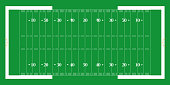 American football field. EPS 10