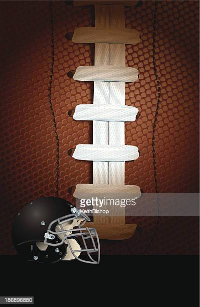 American Football Helmet - All-Star Background
