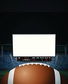 American Football Jumbotron Background