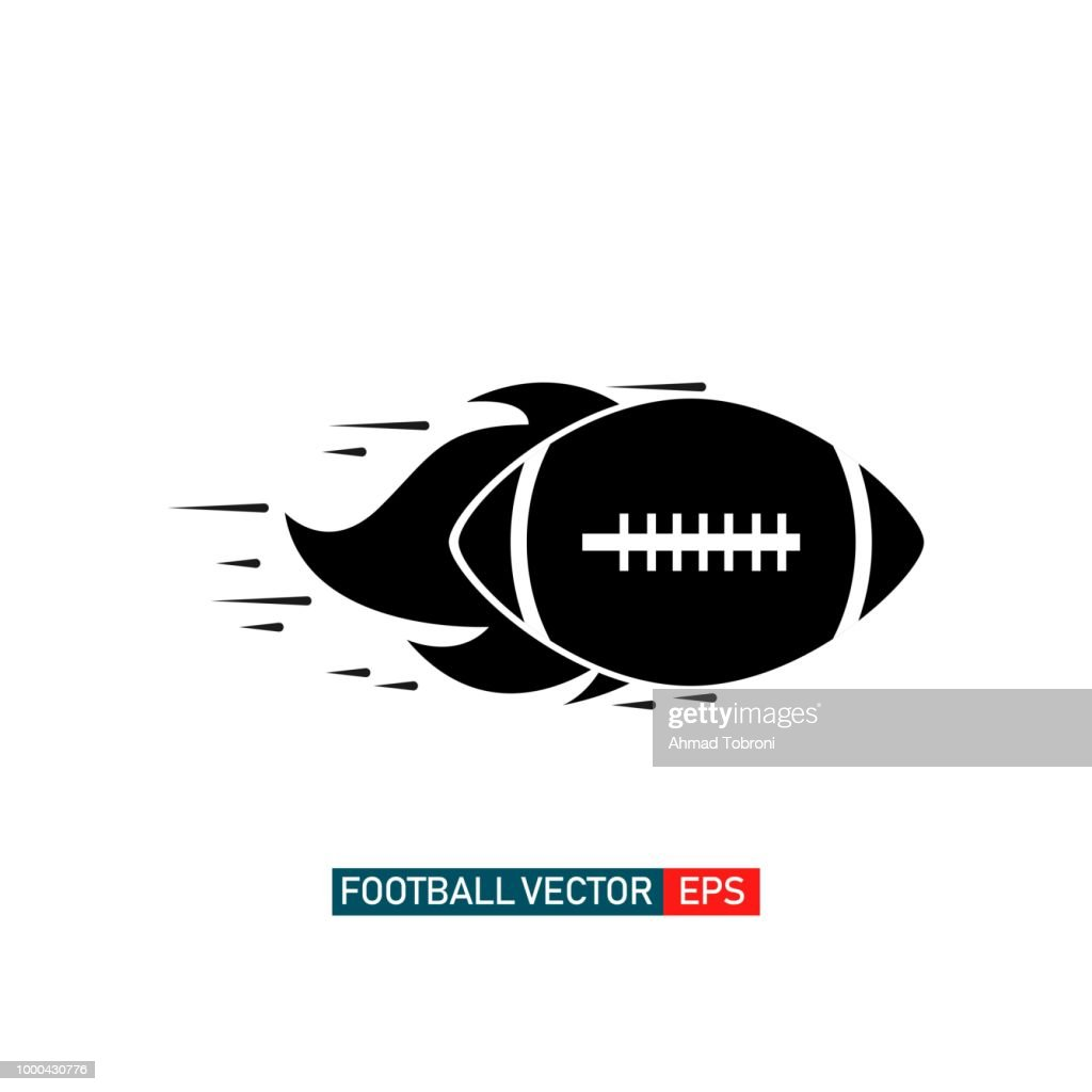 American Football Logo Vector Template Design Illustration