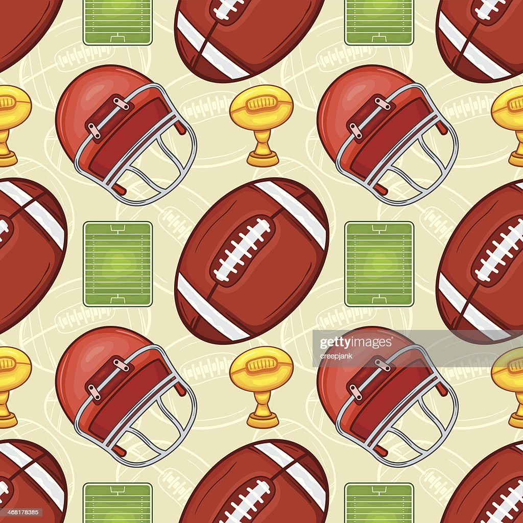 American Football pattern - Sport - #2